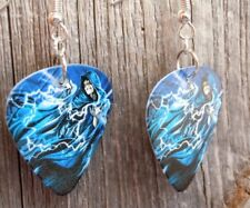 Star Wars The Emperor Guitar Pick Earrings with Surgical Steel Earwires