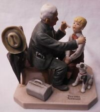 """Norman Rockwell Museum """"The Country Doctor"""" Figurine 1981"""