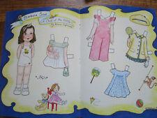 Vtg 2004 Diane Eufrasio Barbara Sue Paper Doll Uncut