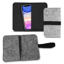 Handy Tasche Apple iPhone 11 Filz Hülle Schutzhülle Cover Schutz Case Handyhülle