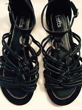 Women's Black Celtic Sandals - Betts