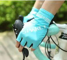 Cycling Gloves Half Finger Lengthen GEL Pad Microfiber Elastic Bicycle MTB Road