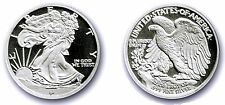 1/10 oz. 999 Silver Bullion Rounds - Walking Liberty Design - Fractional Silver