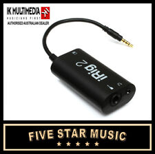 IK MULTIMEDIA iRig2 GUITAR INTERFACE FOR IOS, iPad & iPhone IRIG 2 - NEW