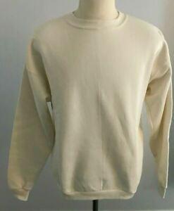 Vintage Fashion Gear Women's Ivory Sweatshirt Size: XL - NOS