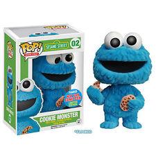 Sesame Street FUNKO POP! Vinyl Figurine COOKIE MONSTER FLOCKED 9 cm exclusive