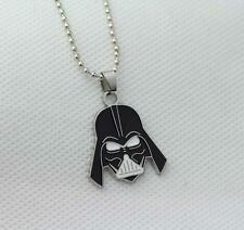 COLLANA STAR WARS 7 VII DARTH VADER FENER MASK MASCHERA CIONDOLO NECKLACE #1