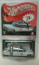 Hot Wheels Ghostbusters Ecto-1Red Line Club MOC in clear display case 1803/6530