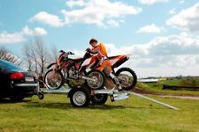 MOTORCYCLE TRAILER -1-2 Bikes - Brenderup MC2 - Brand New 2 year warranty