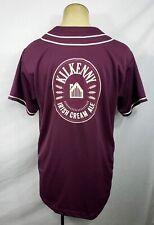RARE Mens Kilkenny Cream Ale Beer purple baseball jersey size Large