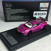 1/64 ScaleBox LB Works Ferrari 458 Flash Pink Singapore exclusives