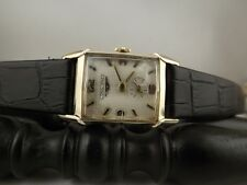 Longines - Wittnauer calibro 9LT art decò 10 K gold filled L&K revisionato