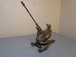 LINEOL GERMANY VINTAGE 1940'S MILITARY GUN CANNON ULTRA RARE ITEM VERY GOOD COND