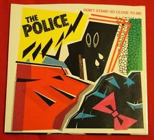 THE POLICE Don't Stand so Close to Me, 45 PICTURE SLEEVE ONLY (NO RECORD) NM