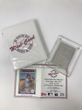 Highland Mint Sports Collection ROYALS GEORGE BRETT 4.25 oz .999 Silver Topps