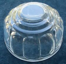 PRETTY VINTAGE CLEAR DEPRESSION GLASS JELLY MOULD