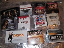 50 DISPLAY BOXES Star Trek GAME THRONES True Blood AVENGERS Lost VAMPIRE DIARIES