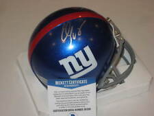 ELI MANNING Signed New York GIANTS Mini-helmet w/ Beckett COA