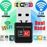 600Mbps Dual Band 2.4G / 5G Hz Wireless Lan USB 2.0 PC WiFi Adapter 802.11AC w7