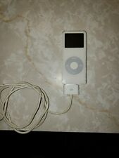 Apple iPod Nano 1st Generation 2GB MP3 Player White A1137 Tested And Works