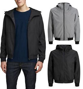 JACK & JONES Trend Jacket Bomber Übergangsjacke Herbst Frühling Schwarz Grau