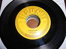 Carl Perkins 50s ROCK SUN 45 Forever Yours / That's Right