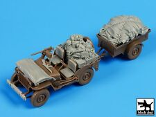 Black Dog 1/35 US Jeep Airborne After Drop Accessories Set (for Bronco) T35098