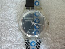 Swatch TIME 4 GK271 Limited Edition Water Resistant Quartz Precisian