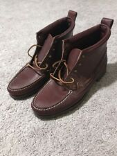 Polo Ralph Lauren Cheyenne Boots New Size 13 Bench Made In Maine USA Vintage