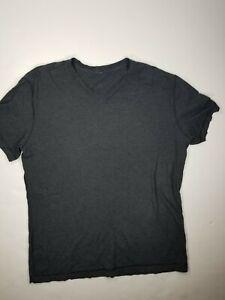 Lululemon Mens Sz Large* V-Neck Basic T-Shirt Gray