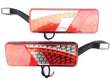 2x Rückleuchte mit Umrissleuchte LED Heckleuchte Schlepper LKW Links Rechts SET
