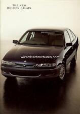 1993 HOLDEN VR SERIES I CALAIS CAR SALES BROCHURE MINT