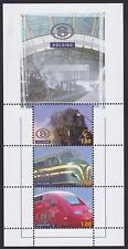 Belgium 2006 - Very Fine MNH Stamp Mini Sheet Cob#TRV-BL10 Railway Train...A4481