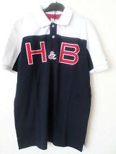 New Mens Harmont & Blaine Navy Blue 100% Cotton Polo T-Shirt Top Size L RRP:€152