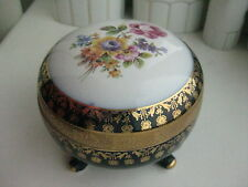 Vintage porcelain casket german Porzellanfabrik Martinroda Friedrich Eger & Co.