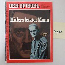 Der Spiegel Hitlers letzter Mann Heft von 1987 Art. Nr. 4162