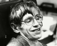 STEPHEN HAWKING THEORETICAL PHYSICIST AZ905 8X10 PUBLICITY PHOTO