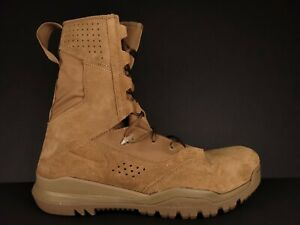 Nike SFB Field 2 8 LEATHER MILITARY BOOTS MENS SIZE 13 COYOTE BROWN AQ1202-900