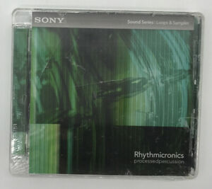 Sony Sound Series Loops & Samples Rhythmicronics Processed Percussion New Sealed