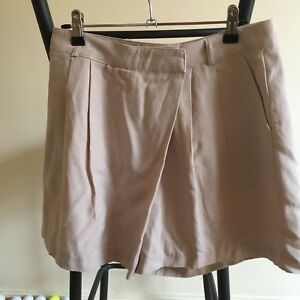 Name Oatmeal Linen Skort Size 10 Great condition