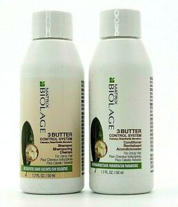 Matrx Biolage 3 Butter Control System Shampoo & Conditioner 1.7 oz Duo