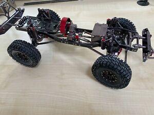 ABSIMA RC-CRAWLER 1:10 Chassis Bausatz neu mit Brushless Motor und Regler Set