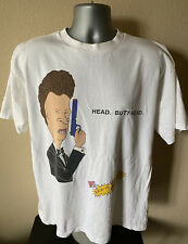 New listing Vtg 90's Stanley Desantis Beavis And Butthead Men Xl T Shirt: 007 Parody Mtv Usa