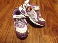 Sofia the First toddler girls size 9 light up shoes-Excellent Condition & Work