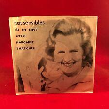 "NOTSENSIBLES I'm In Love With Margaret Thatcher 1979 UK 3-track 7"" Vinyl single"