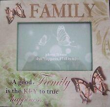 Shabby Chic Wooden Family Photo Frame- A good Familyis the Key to true Happiness