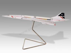 Concorde British Airways (Cut Away Version) Transparent Resin Desktop Model