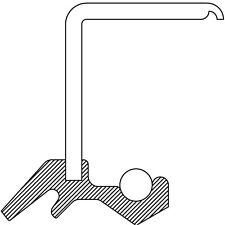 Transfer Case Output Shaft Seal fits 2003-2009 Kia Sorento  NATIONAL BEARING