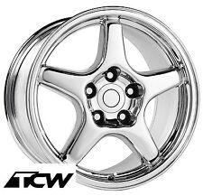 2002 trans am wheels ebay Firebird WS6 1 17x9 5 inch corvette c4 zr1 style chrome wheel rim fit c4 corvette 88 96 fits 2002 trans am