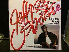 "Jeffrey Osborne 12"" You Should Be Mine (The Woo Woo Song) VG+"